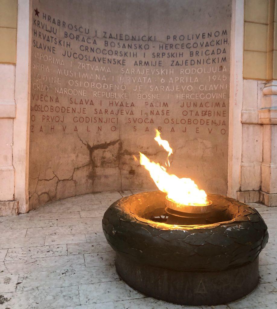 Večna vatra, Sarajevo